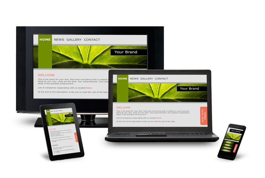 32310118 - responsive web design on mobile devices phone, laptop and tablet pc